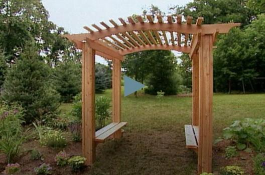 How To Build with Garden Arbor Plans