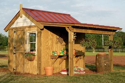 Free Garden Shed Plans