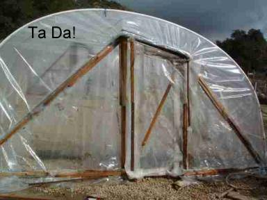 Easy to Build Greenhouse