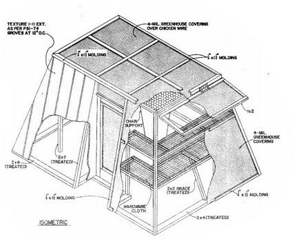 Greenhouse Plans with Flat Roof