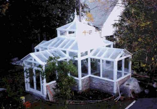 Victorian Style Greenhouse Plans