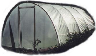 Arched PVC Structure