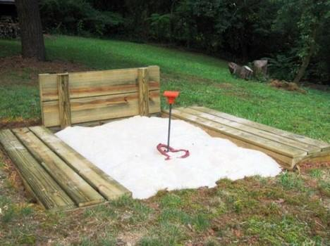 Build a Backyard Horseshoe Pit