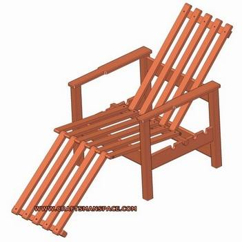 Adjustable Lounge Chair - DIY Patio Chair Plans