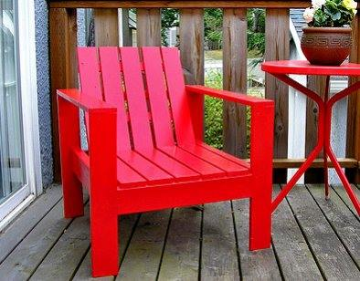 Lounge Chair - DIY Patio Chair Plans