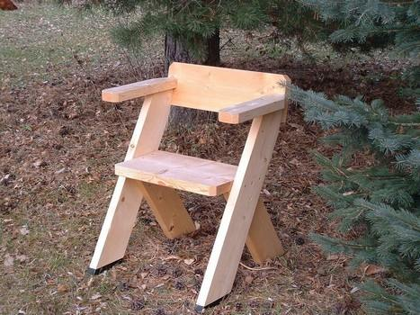 Simple Outdoor Chair Plans