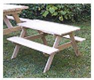 Picnic Table Plans Just for Kids