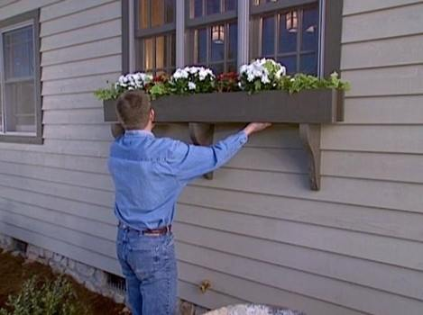 Window Box Planter Box Plans