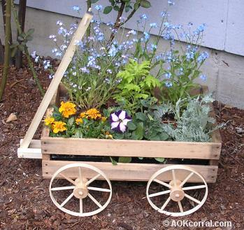 Plant in a Wagon