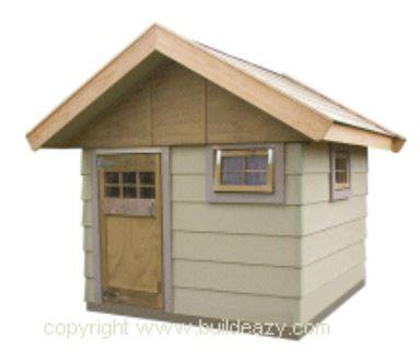 Playhouse Plans - A Sturdy Hideaway
