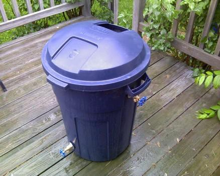 Roughneck DIY Rain Barrel Plans