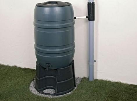 Build a rainwater diverter and rain barrel