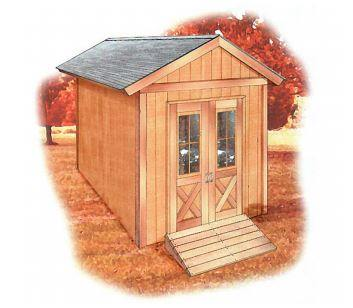 Storage Shed 12 x 8 ft.
