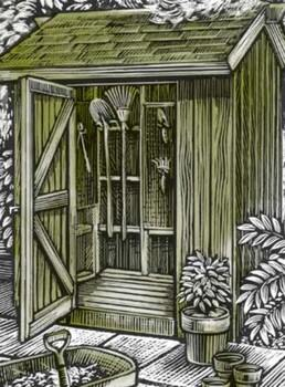 Redwood Tool Shed - FREE Shed Plans - Popular Garden Tool Sheds