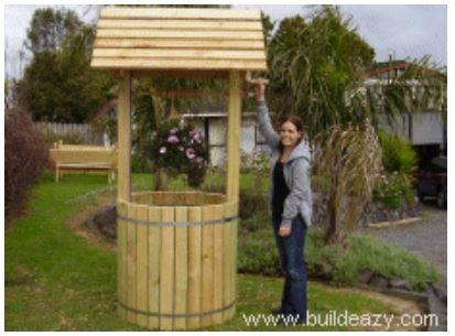 Garden Wishing Well Plans