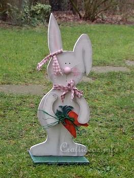Outdoor Easter Bunny