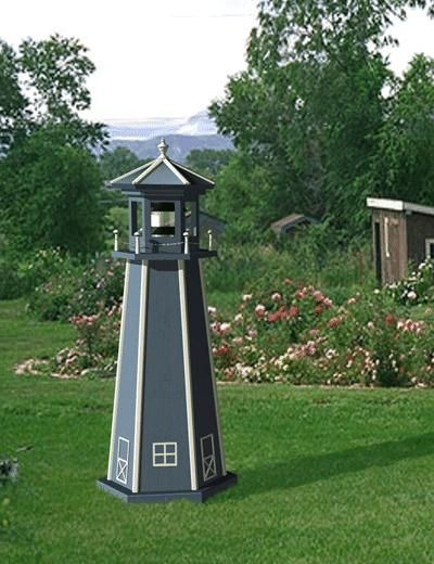Garden Lighthouse Plans http://www.backyardspaces.com/plan-lighthouse.html