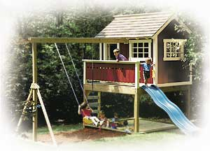 Backyard Playhouse Plan