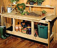 Potting Bench Project Plan