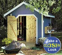 Tool Storage Shed Plan