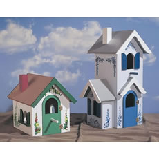Free Home Plans Haunted House Victorian Birdhouse Plans